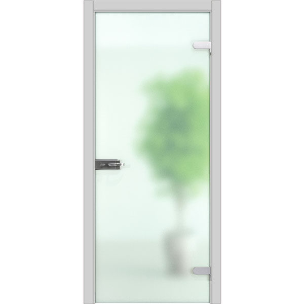 Двері суцільноскляні