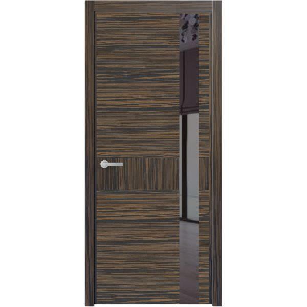 Двері з пофарбованим склом